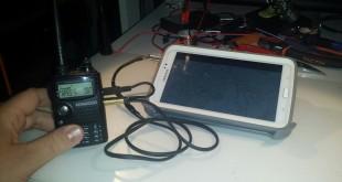 TNC Καλώδιο διασύνδεση SmartPhone & Tablet με Φορητό Πομποδέκτη προτύπου Kenwood