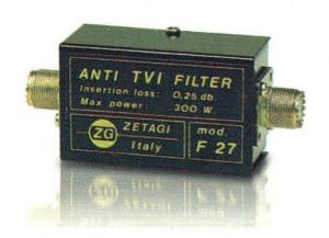 TVI Filter. Φίλτρο καταστολής παρεμβολών στις τηλεοράσεις.