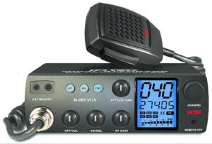 Πολλά από τα σύγχρονα ραδιοτηλέφωνα C.B. έχουν διπλή ένδειξη, συχνότητα και κανάλι.