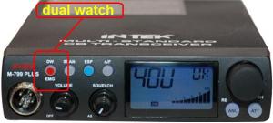 Dual Watch, συνομιλείς στο 14, και ταυτόχρονα παρακολουθείς το 34! Εξαιρετικά βολικό!
