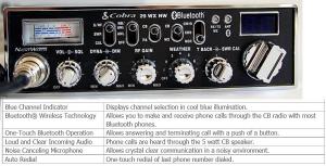 Συνεργασία GSM/C.B. μέσω Bluetooth, η τεχνολογία σε όλο της το μεγαλείο.