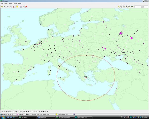 Εικόνα 3 Λογισμικό DX Atlas και spots από ViewProp