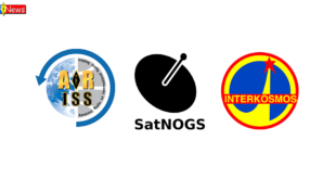 ARISS / Intercosmos – 40th years / Receive SSTV via SatNOGS